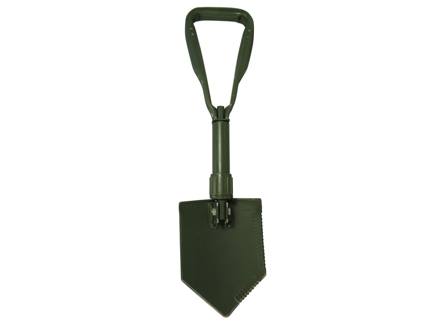 Military Surplus German Entrenching Tool Shovel with Carrier Steel Olive Drab