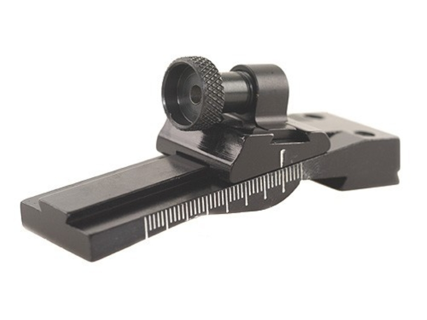 Williams WGRS-M1 Carbine Guide Receiver Peep Sight 30 Carbine (Fits Dovetail) Aluminum Black