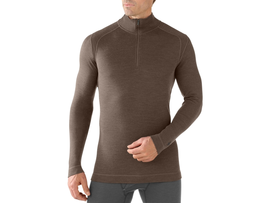Smartwool Men's NTS Mid 250 1/4 Zip Long Sleeve Base Layer Shirt
