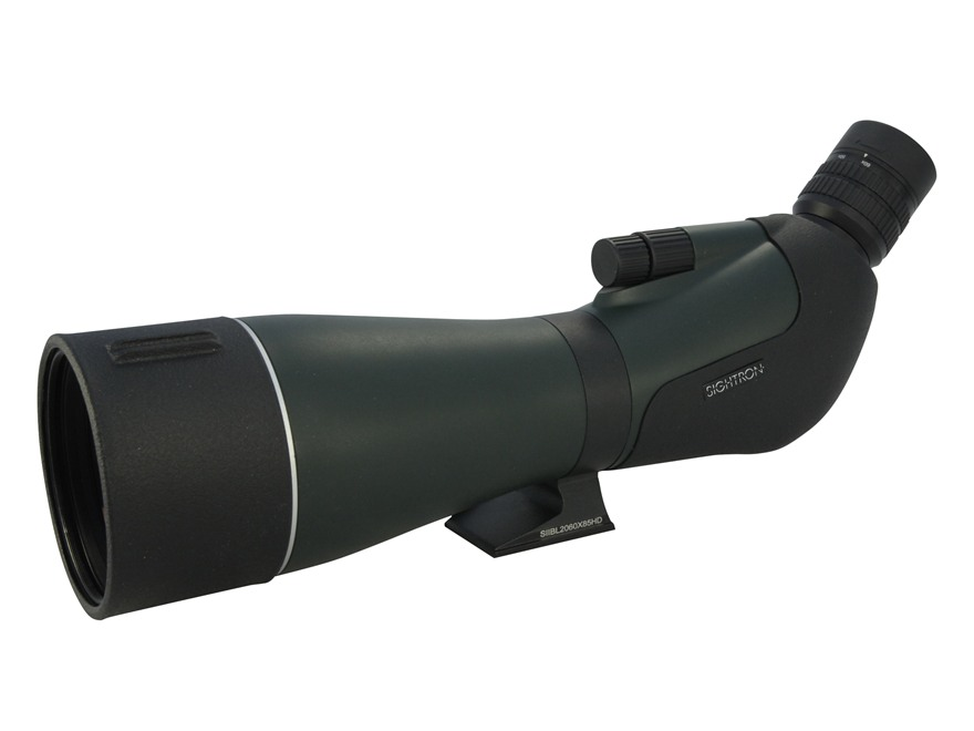 Sightron SII Spotting Scope 20-60x 85mm Rubber Armored Green