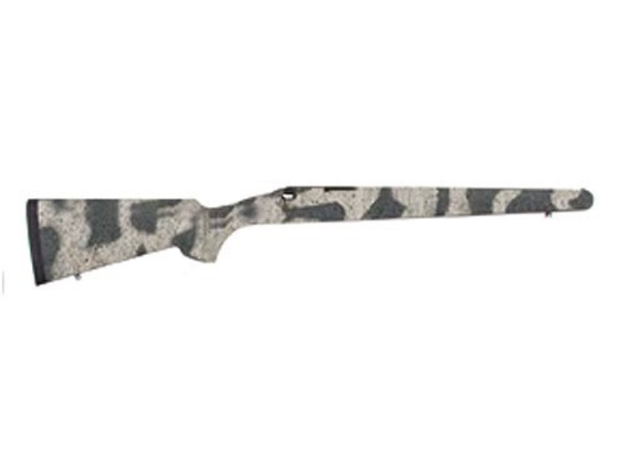 H-S Precision Pro-Series Rifle Stock Remington 700 ADL Short Action Factory Barrel Channel Synthetic Winter Camo