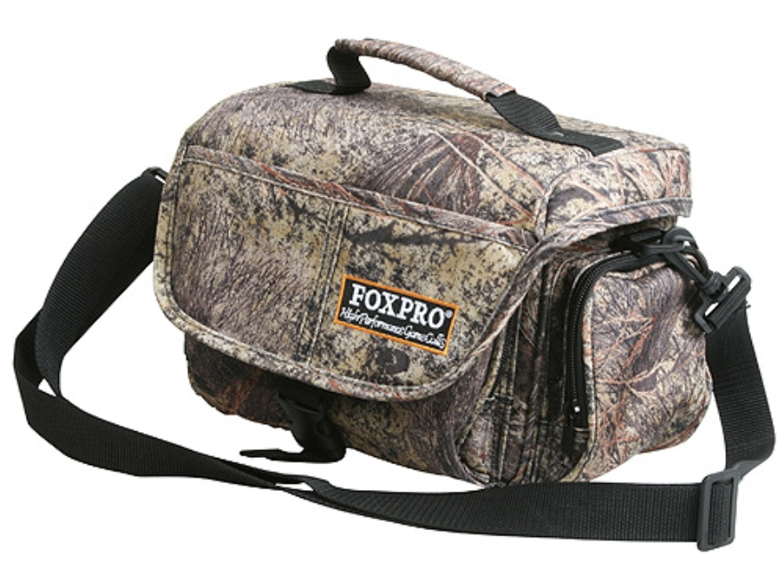 FoxPro Electronic Call Carry Case Nylon Mossy Oak Brush Camo