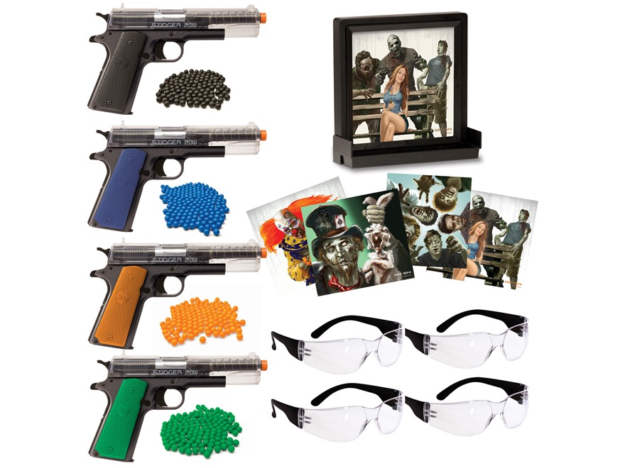 Crosman Airsoft Fun Kit with Zombie Targets