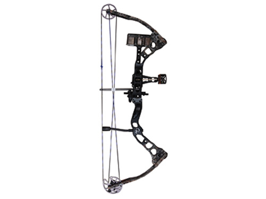 "Quest Torch G-Fade XR Compound Bow Package Left Hand 30-45 lb. 24""-28"" Draw Length Realtree AP Camo and Black"