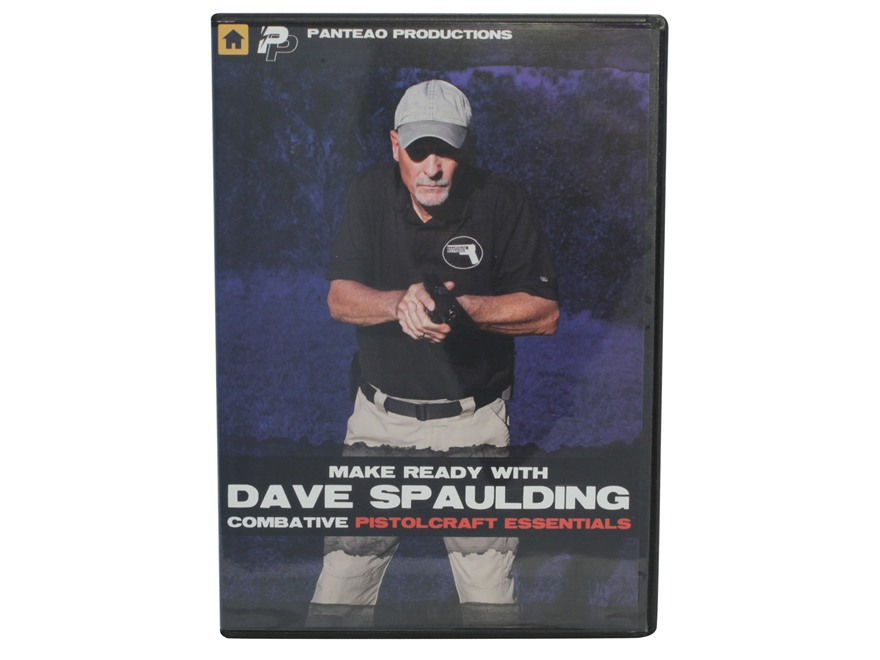 "Panteao ""Make Ready with Dave Spaulding:  Combative Pistolcraft Essentials"" DVD"