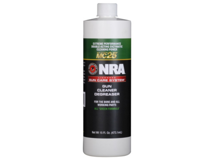 NRA Licensed Gun Care Kit By Mil-Comm MC25 Gun Cleaner Degreaser Bore Cleaning Solvent ...
