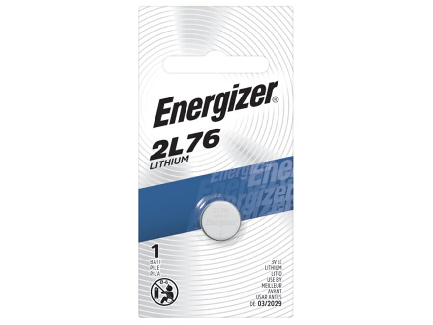 Energizer Battery EVR-2L76BP (1/3N) 3 Volt Lithium