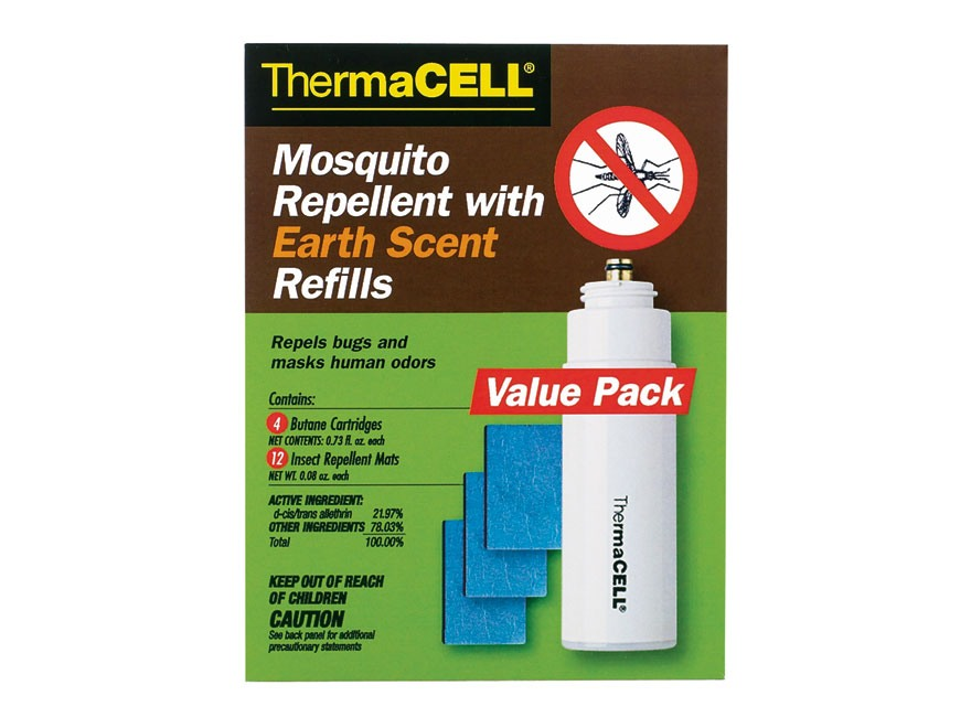 Thermacell Mosquito Repellent Earth Scent Refill Value Pack (Butane .42 oz Pack of 4 an...