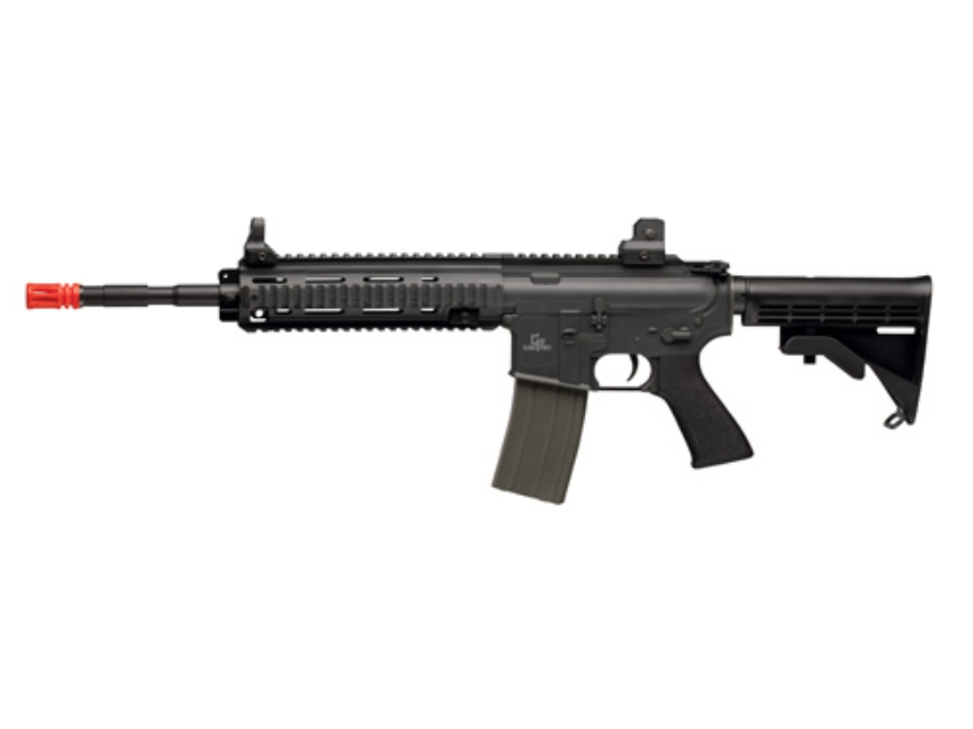 Game Face GF460 Airsoft Rifle 6mm Electric Full-Automatic Polymer Black