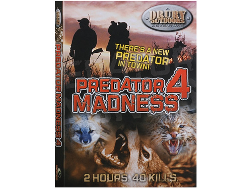 Drury Outdoors Predator Madness 4 Video DVD