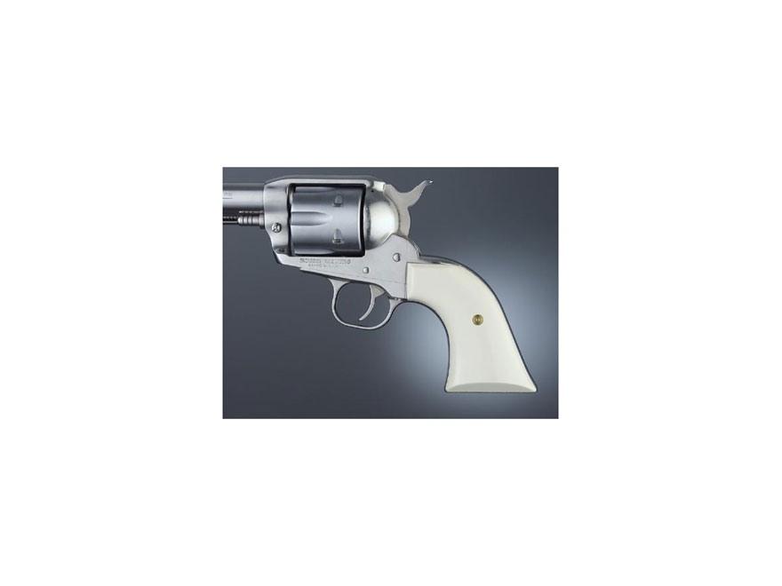 Hogue Grips Ruger Blackhawk, Single Six, Vaquero Ivory Polymer