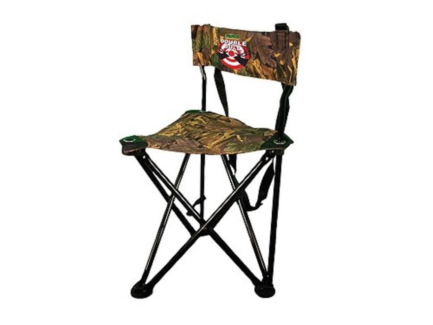 Double Bull Qs3 Tri Stool Chair Steel Frame Black