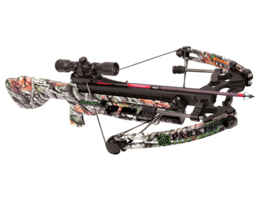 Parker Concorde 175 Perfect Storm Crossbow Package with Illuminated Multi-Reticle Scope Next Vista Camo