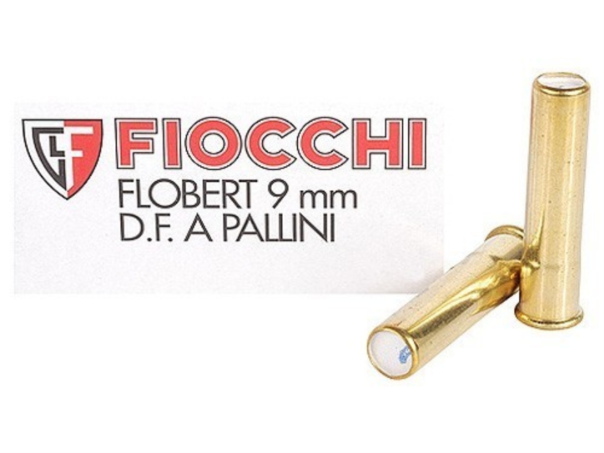Fiocchi Specialty Ammunition 9mm Rimfire (Flobert) #7-1/2 Shot Shotshell Box of 50