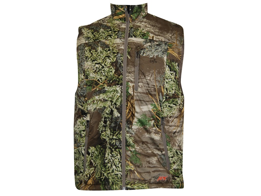 APX Men's L3 Lightning Primaloft Vest Polyester Realtree Max-1 Camo Medium 38-40