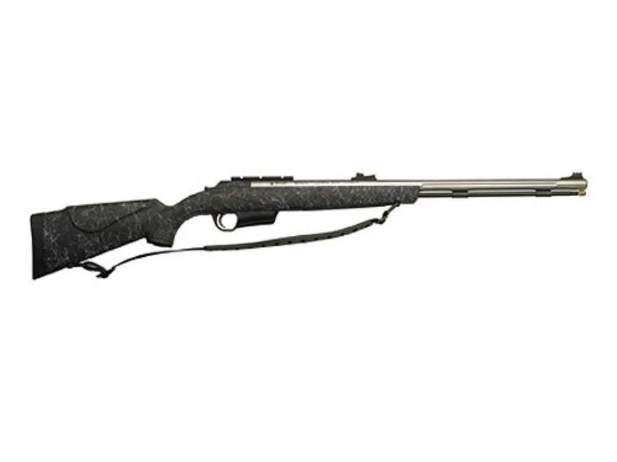 "CVA Electra ARC Magnum Muzzleloading Rifle 50 Caliber Synthetic Stock Black 26"" Barrel Stainless Steel"