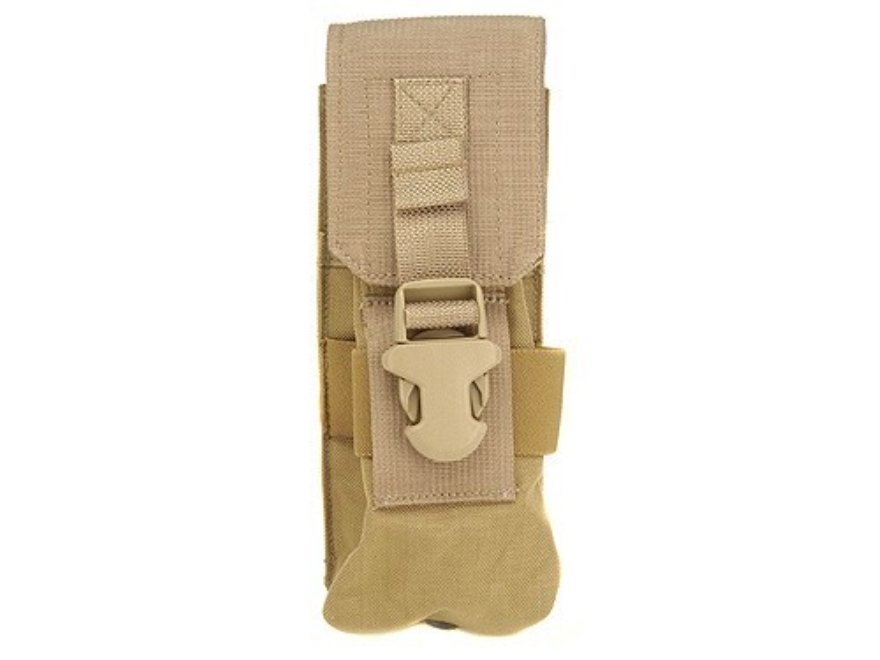 Buffer Technologies MagCinch Pouch 30 Round AR-15 MOLLE Compatible Nylon Tan