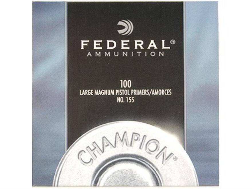 Federal Large Pistol Magnum Primers #155