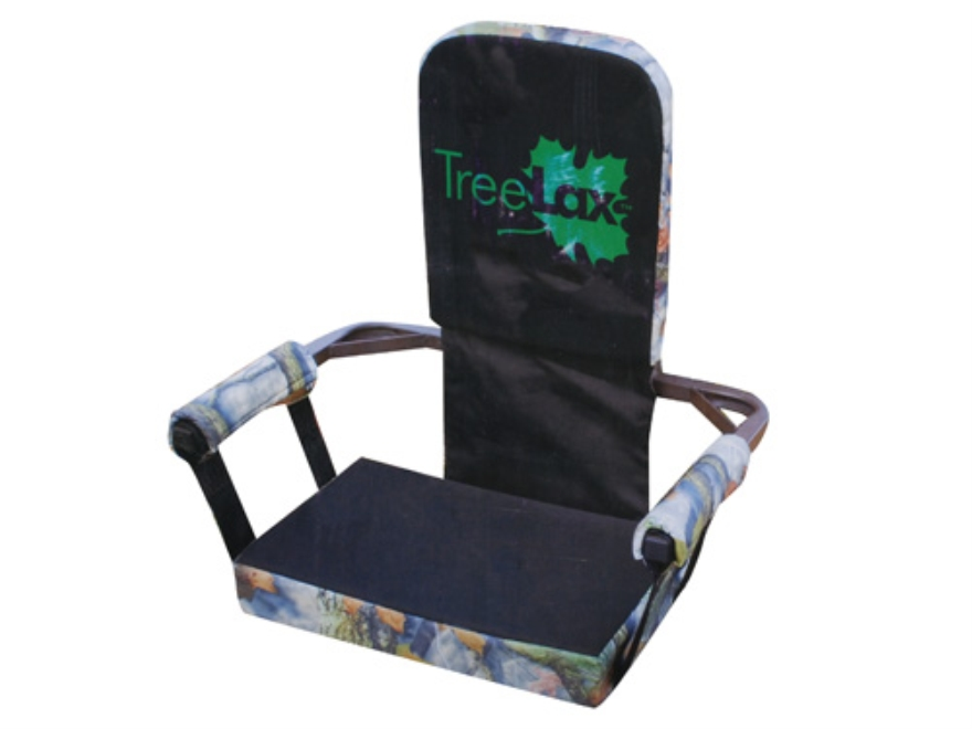 Tree Lax Lounger Strap On Tree Seat Steel and Foam Bloodtrail Camo