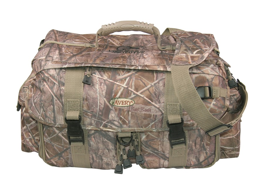 Avery Pro Grade Blind Bag Nylon BuckBrush Camo