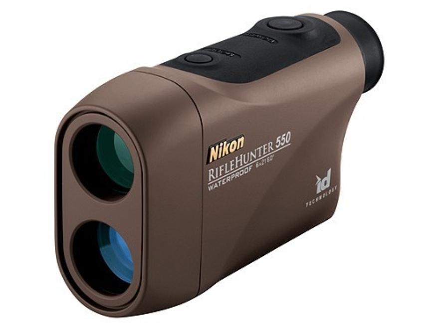 Nikon RifleHunter 550 Laser Rangefinder 6x Brown