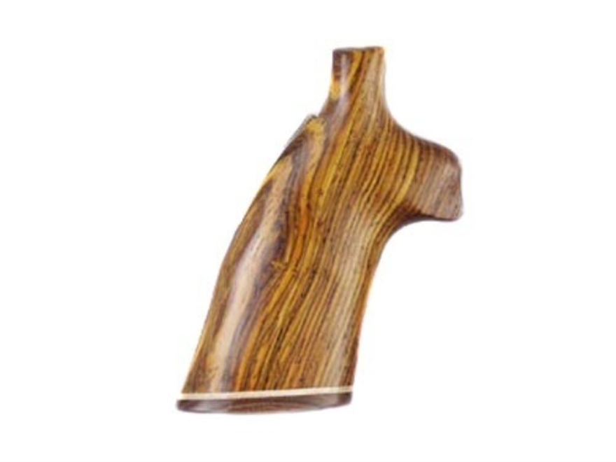 Hogue Fancy Hardwood Grips with Accent Stripe Colt Trooper Mark III