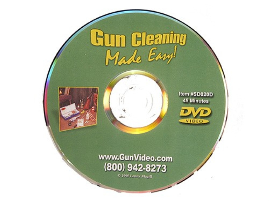 "Gun Video ""Gun Cleaning Made Easy: Pistols, Rifles, Shotguns"" DVD"