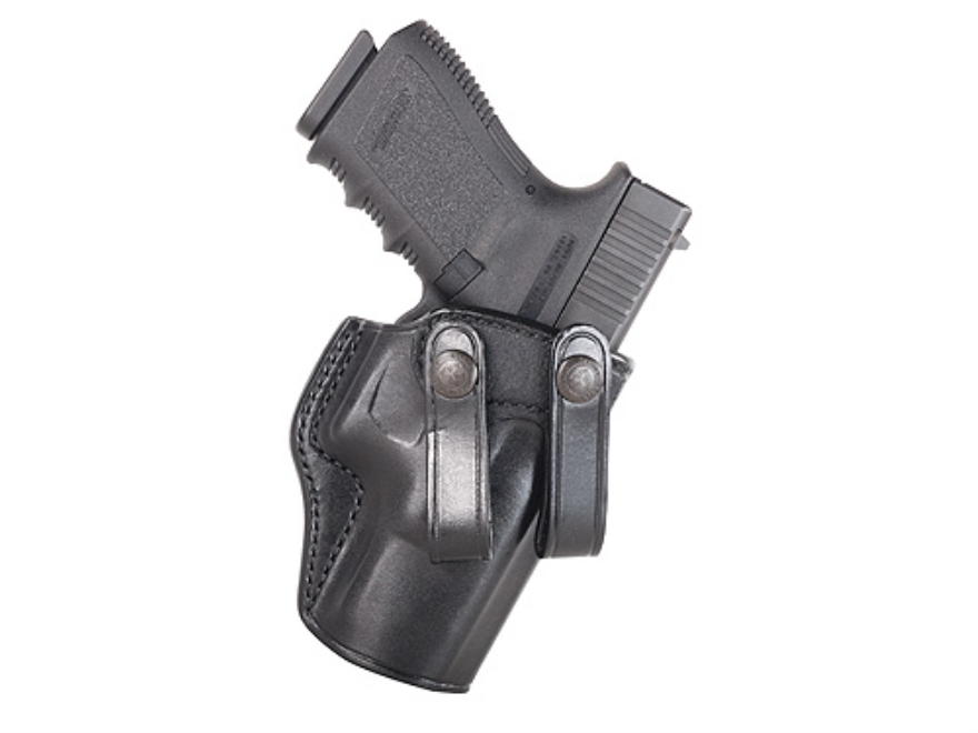 Galco Summer Comfort Inside the Waistband Holster Right Hand Glock 20, 21, 37 Leather Black