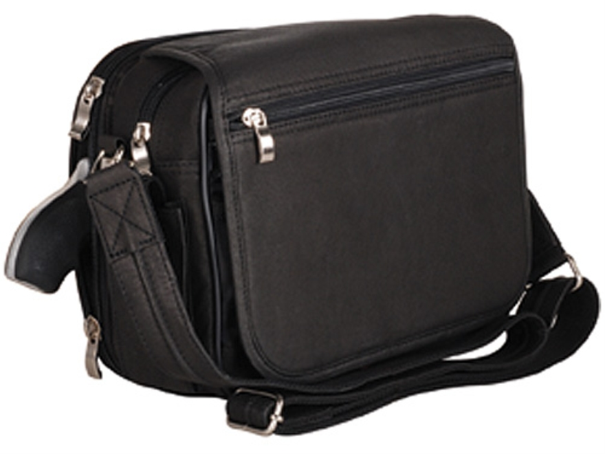 Gun Tote'N Mamas Boston Handbag Leather