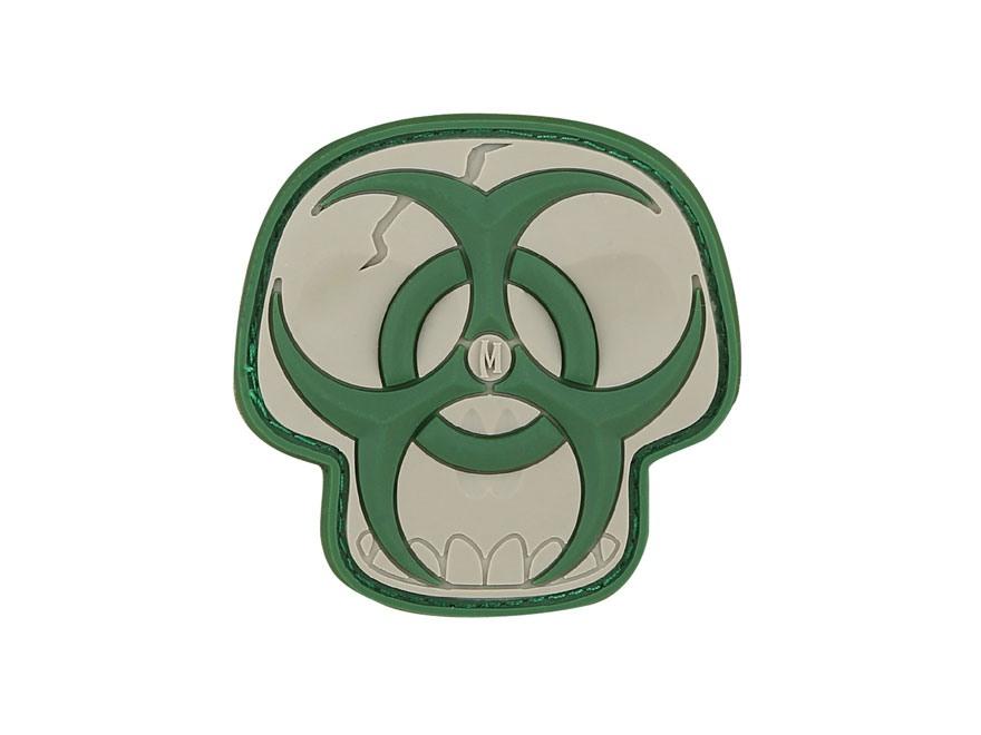 "Maxpedition Biohazard Skull PVC Patch 2"" x 2"""