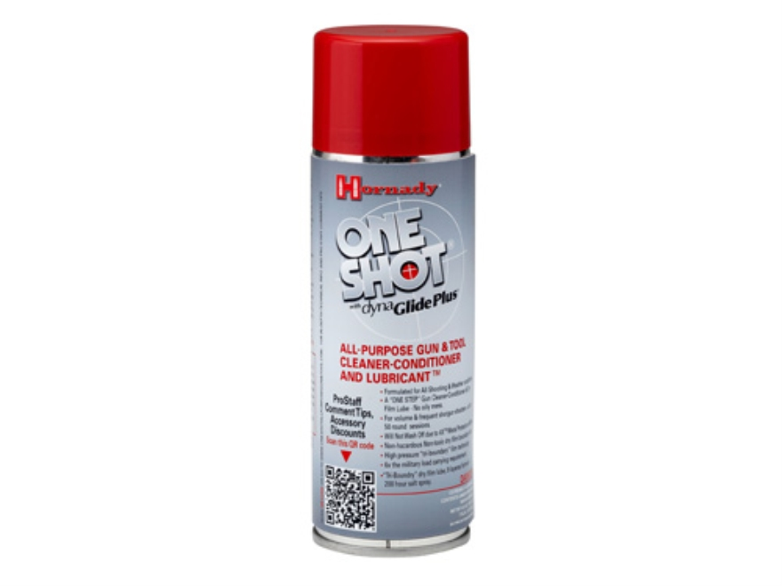 Hornady One Shot Gun and Tool Cleaner, Conditioner and Lubricant 5-1/2 oz Aerosol