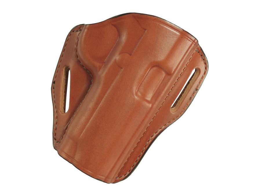 """Bianchi 58 P.I. Belt Slide Holster 1911 Government, Commander, Officer 3""""-5"""" Leather"""