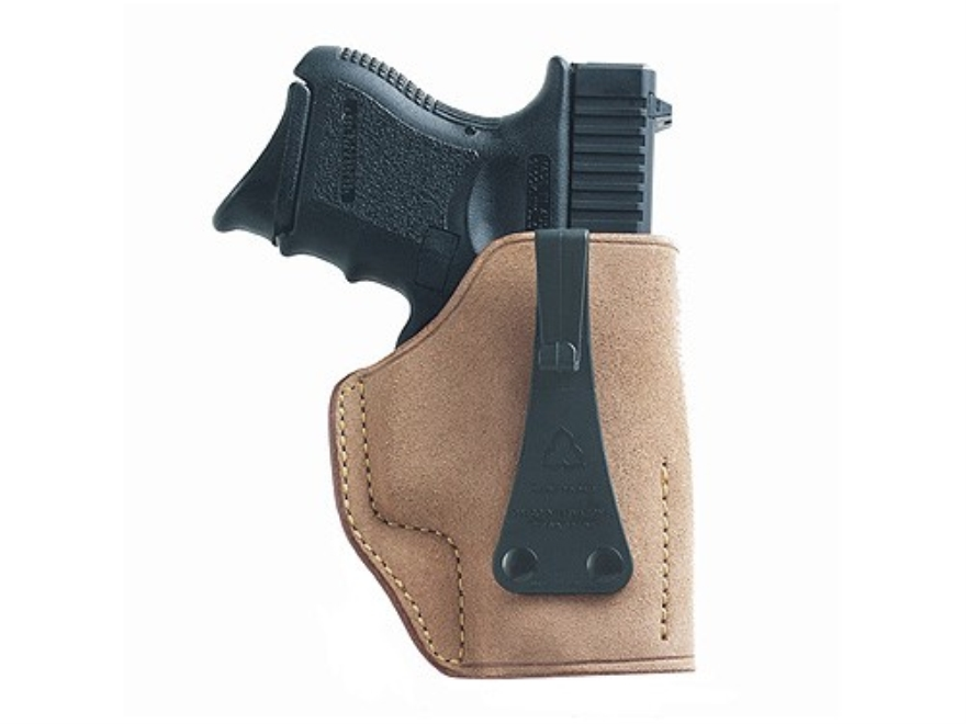 Galco Ultimate Second Amendment Inside the Waistband Holster Glock 26, 27, 33 Leather Tan