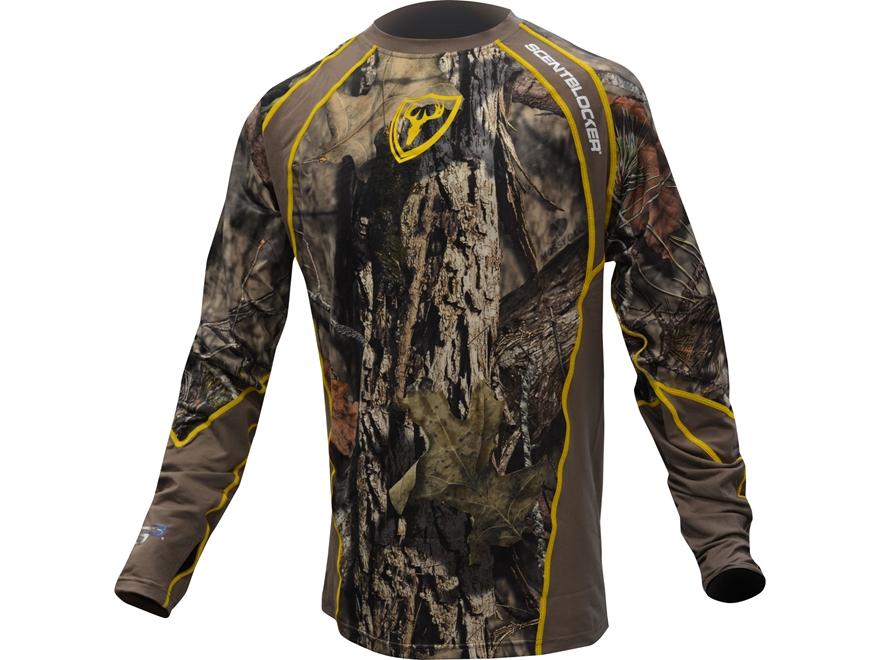 ScentBlocker Men's 1.5 Peformance Long Sleeve Crew Shirt