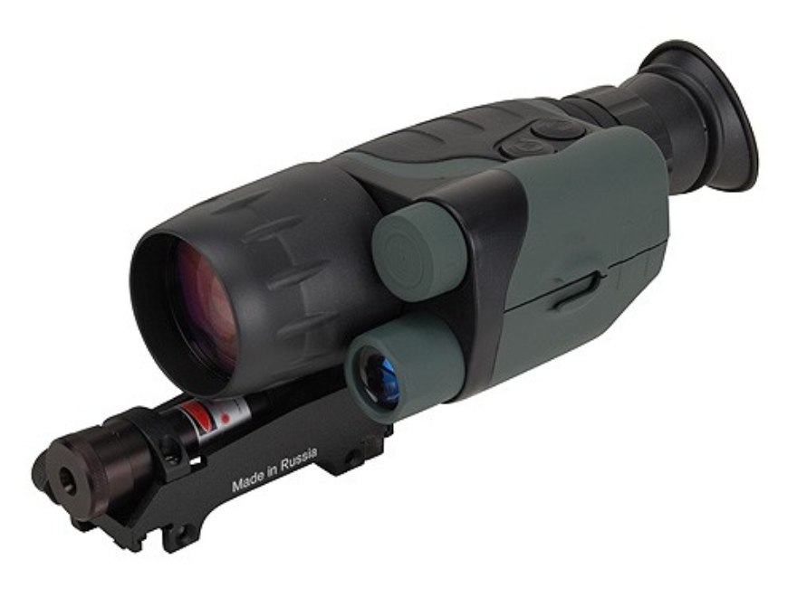 Yukon NVMT 1st Generation Night Vision Rifle Scope 3x 42mm with Integral Weaver-Style Mount Matte