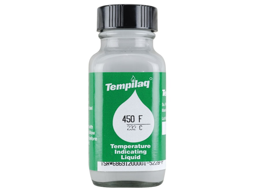 Tempilaq Temperature Indicator 450 Degree 2 oz