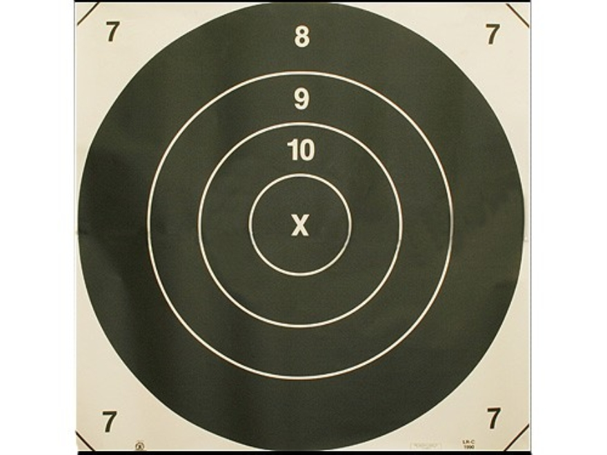 NRA Official High Power Rifle Targets Repair Center LR-C 800-1000 Yard Slow Fire Paper ...