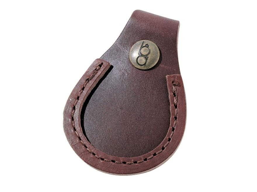 Bob Allen Shooter's Gun Toe Pad Leather Brown