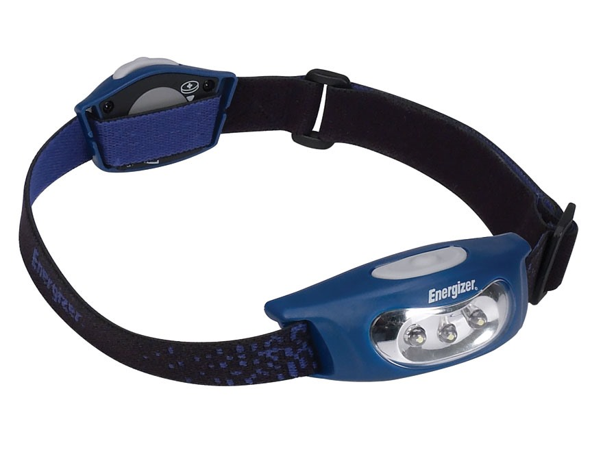 Energizer Eveready Micro Sport 3 Headlamp LED with 2 AA Batteries Polymer
