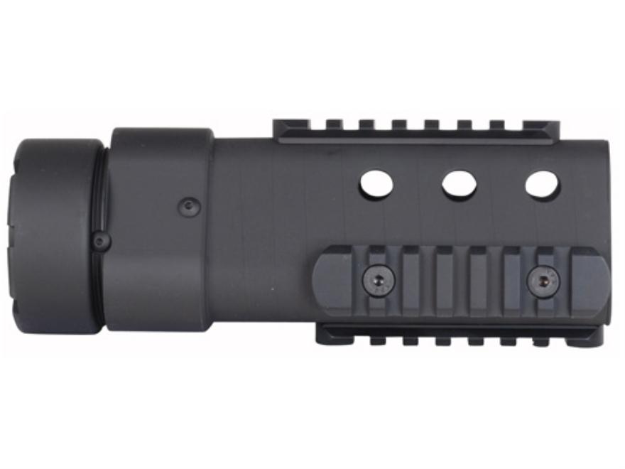 PRI Gen III Delta Free Float Tube Handguard Quad Rail AR-15 Carbon Fiber