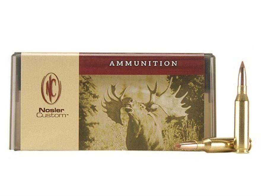 Nosler Custom Ammunition 260 Remington 100 Grain Ballistic Tip Hunting Box of 20