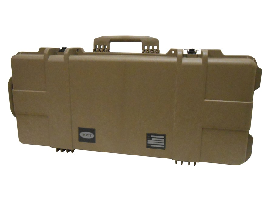 "Boyt H36 Tactical Carbine Rifle Case with Foam Insert and Wheels 39"" x 17-1/4"" x 7"" Pol..."