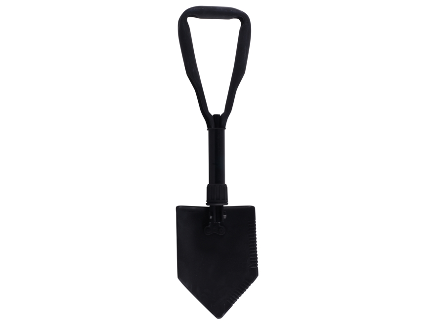Military Surplus Entrenching Tool with Carrier Grade 1 Steel Black