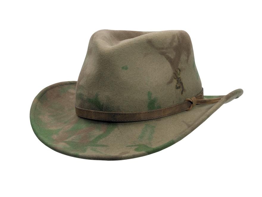 Browning Bismarck Lite Hat Felt Woods
