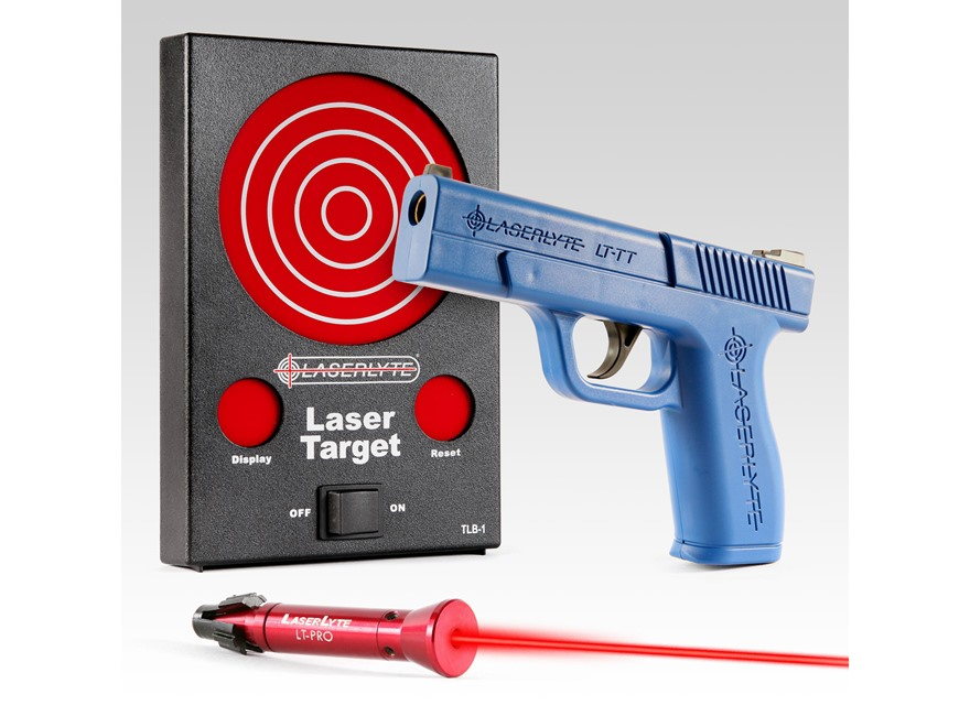 LaserLyte Bullseye Kit with Full Size Pistol Housing and LT-Pro Laser Trainer