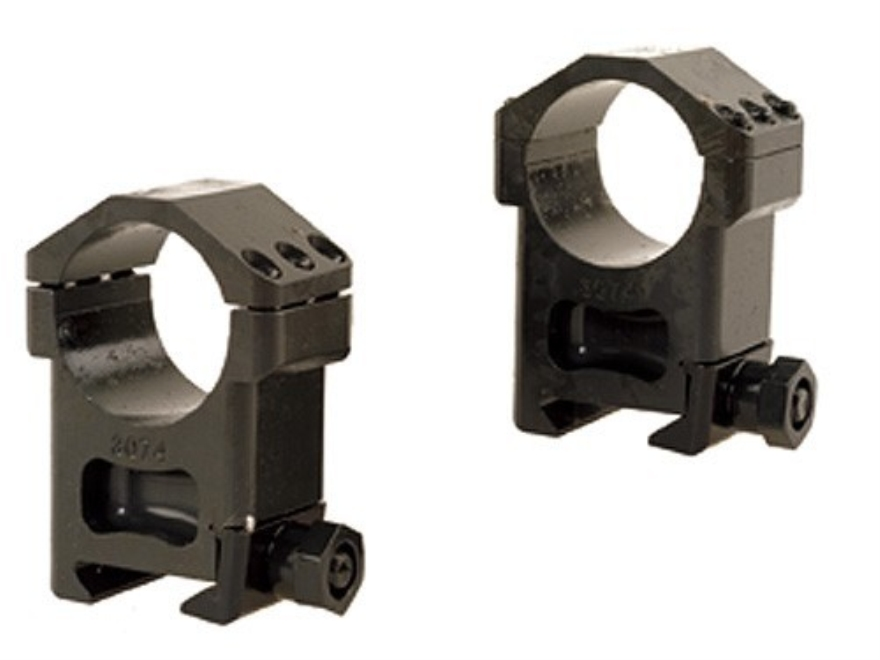 Badger Ordnance Picatinny-Style 30mm Max-50 Rings Matte