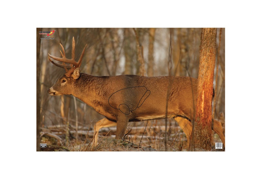 "Birchwood Casey Eze-Scorer Deer Targets 23"" x 35"" Pack of 2"