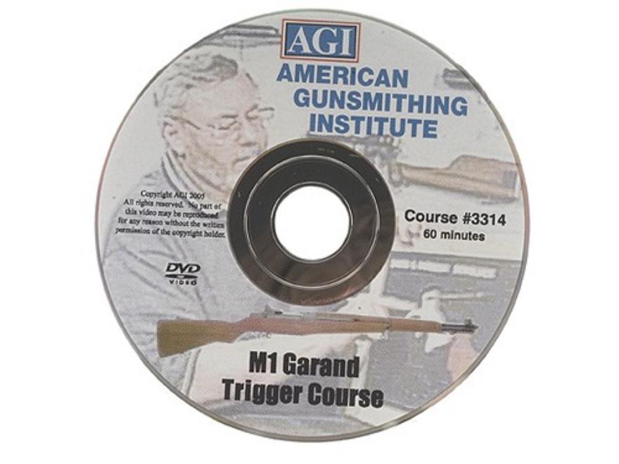 "American Gunsmithing Institute (AGI) Trigger Job Video ""The M1 Garand"" DVD"
