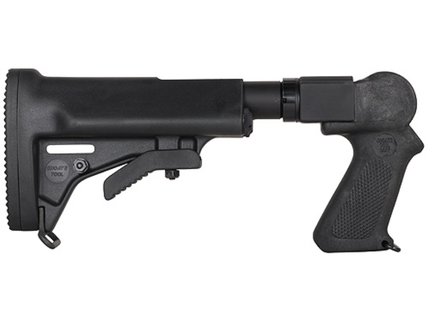 Choate Adjustable Stock Thompson Center Contender (Only) Rifle Steel and Synthetic Black