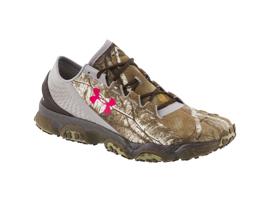 Under Armour Speedform XC Shoes Synthetic Blend Realtree AP Pink and